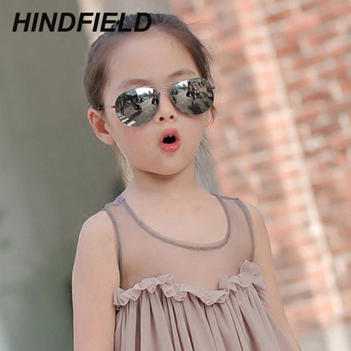 Kids Sunglasses for Children Fashion Boys Girls Baby Child 90's Aviator Sun Glasses Infant UV400 lunette de soleil enfant - KiddyLanes