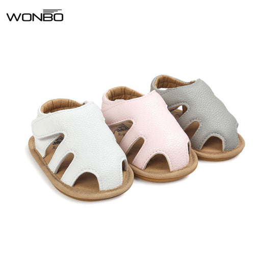 New Design WONBO Baby Sandals Cute Boys Girls Summer Clogs Soft Toddler Shoes 3 Colors - KiddyLanes