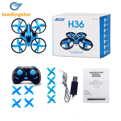 LeadingStar JJRC H36 RC Drone Mini Dron 2.4GHz 4CH 6 Axis Gyro RC Quadcopter with Headless Mode Drones Flying Helicopter For Kid - KiddyLanes