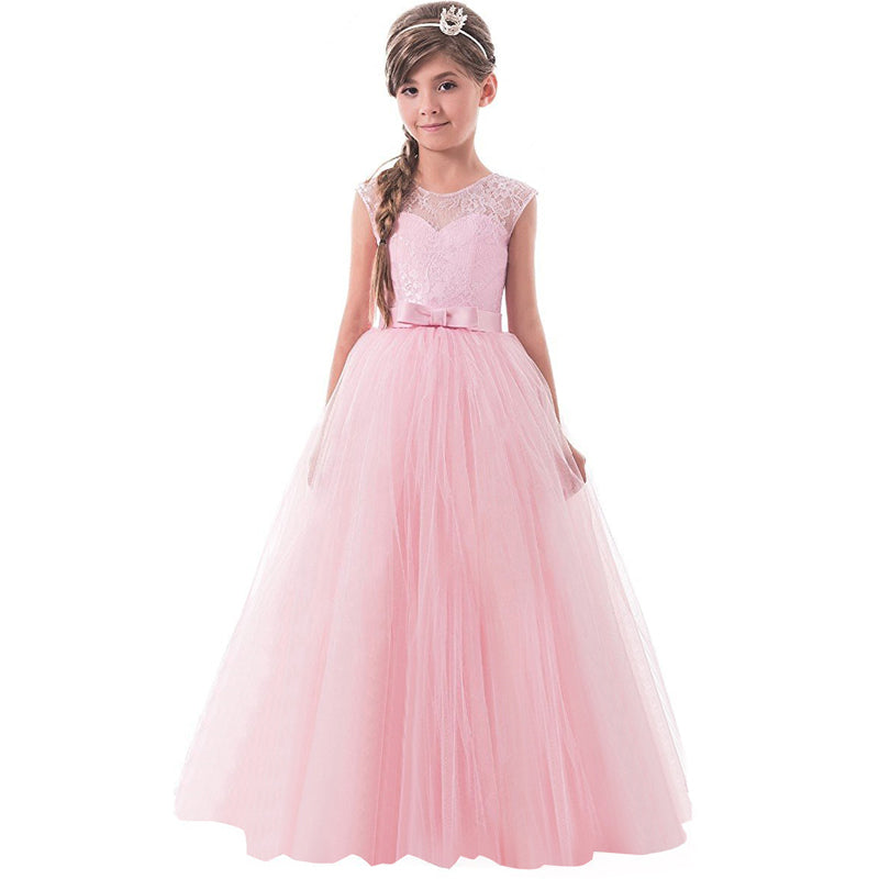 36772ae59128 Lace Princess Dresses for Girls Clothes Tulle Children s Costume For K