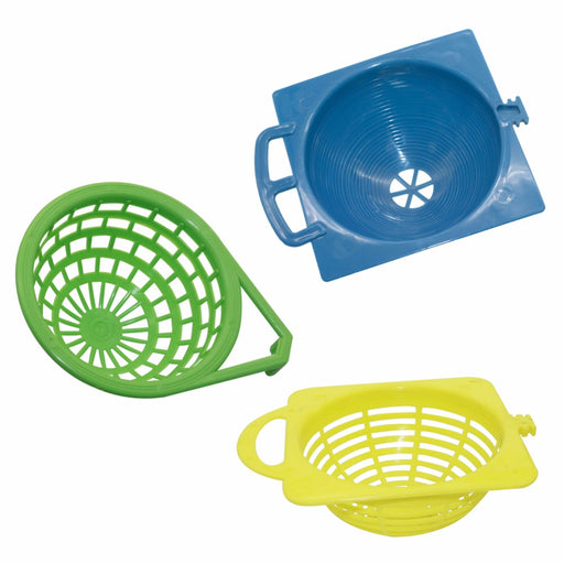 Plastic Canary Nest Cage decorative cages 3 optional bird eggs Nest Pan Pet Birds Hatching Tools Supplies - KiddyLanes