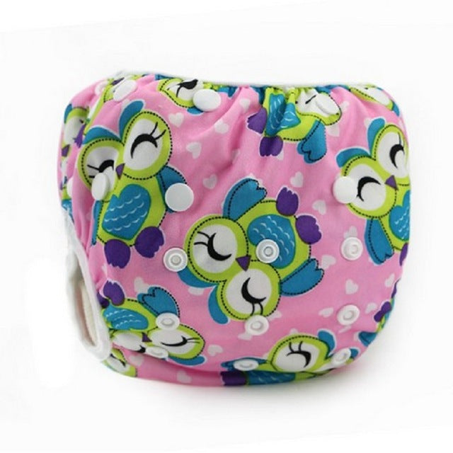Baby Swim Diaper wear Leak-proof Reusable Adjustable for infant boy girl toddler for 0- 3 years - KiddyLanes