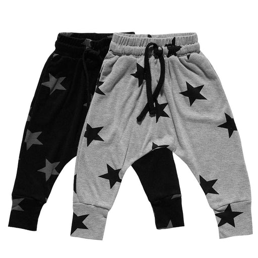 New Kids Boys Harem Pants Star Printed Toddler Boys Girls Trousers Baby Boys Clothing Casual Pants Pantalon Enfant Garcon - KiddyLanes