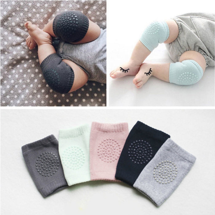 1 Pair Baby Knee Pads Baby Pad Leg Protect Baby Anti Slip Crawling Accessory Baby Leg Knees Protector For Newborns Leggings - KiddyLanes