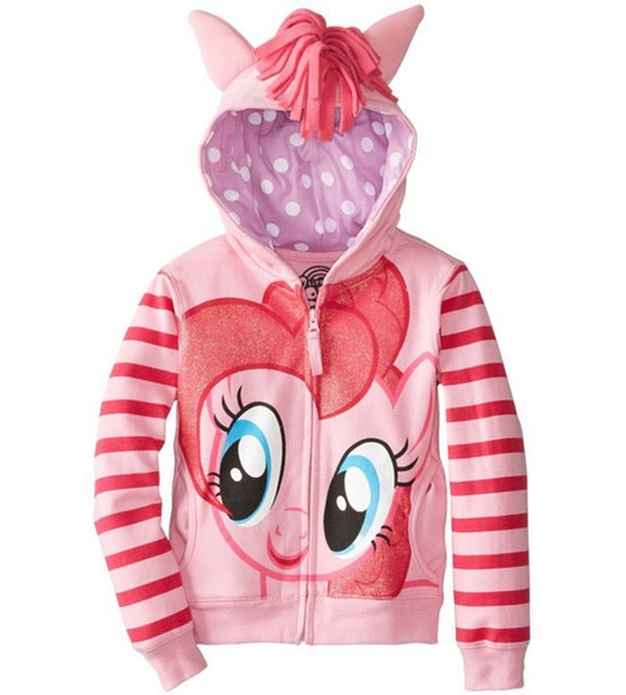 NEW 1 Pcs Pony Kids Girls and boys jacket Children's Coat Cute Girls Coat, hoodies, girls Cotton Jacket children clothing - KiddyLanes