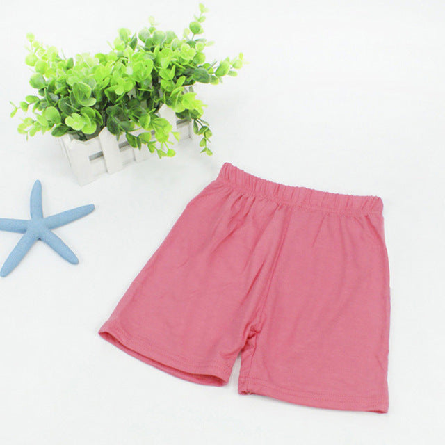Breathable Soft Toddlers Pants Kids Girls Safety Shorts Baby Plain Underwear B - KiddyLanes