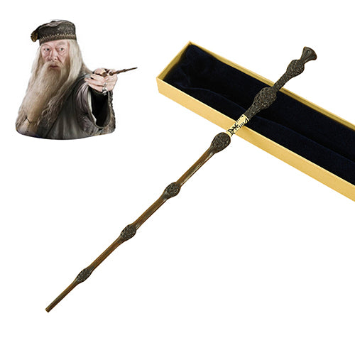 Metal Core Dumbledore Magical Wands with Gift Box Packing Halloween