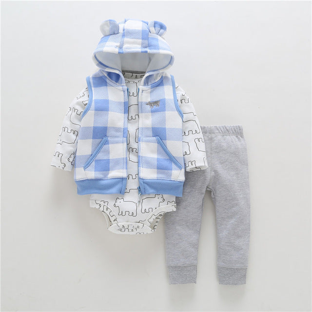 Baby Romper Autumn Winter Bodysuit Infant - KiddyLanes