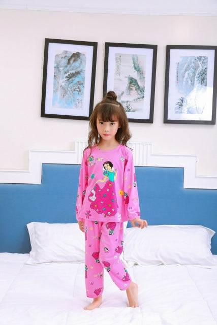 9029207432a7 New Listing Children Clothing Autumn Winter Girls Baby Pajamas Cotton Boy Nightgown  Kids Home Cltoh Girl