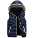 Family Matching Clothes Autumn Winter Big Boys Girls Vest Coat Kids Thick Cotton-padded Warm Waistcoat Hooded Vests For Children - KiddyLanes