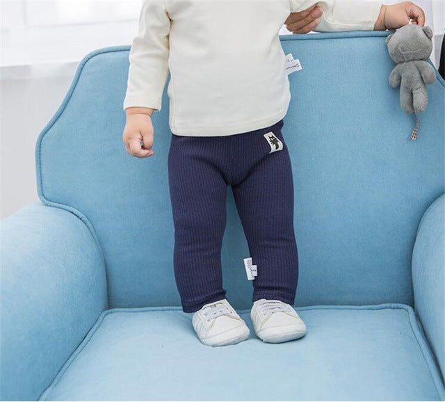 High Waist Baby Pants - KiddyLanes