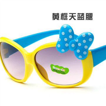 ASUOP fashion Kids Sunglasses children Princess cute baby Hello- glasses Wholesale High quality boys gilrs suanglassSummer style - KiddyLanes