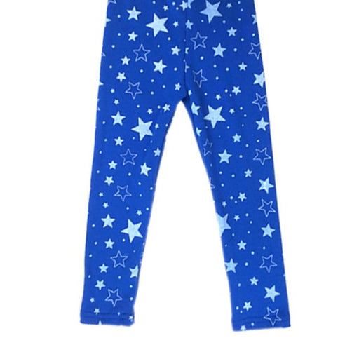 Summer&Autumn Children Baby Girls Stretch Leggings Star Printed Casual Long Pants Trousers 2-7Y - KiddyLanes
