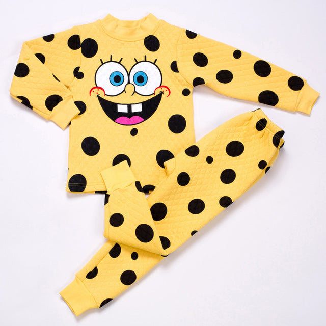 Female baby boy cotton wool pajamas cotton pajamas free shipping personal pajama suit - KiddyLanes