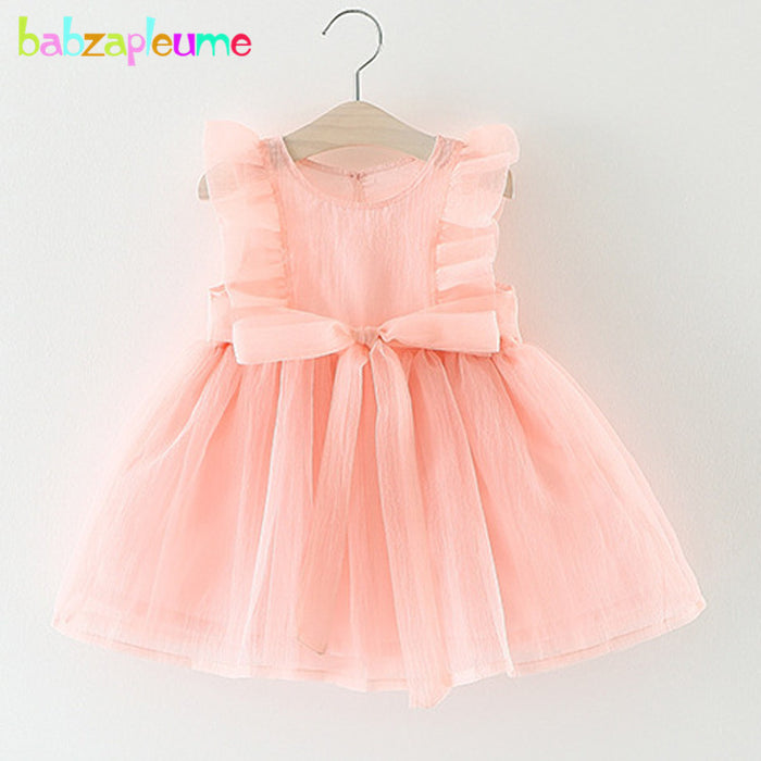 Summer Newborn Baby Girls Party Wedding Dress Infant Christening Gowns 1 Year - KiddyLanes