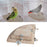 1Pc New Pet Bird Parrot Wood Platform Stand Rack Toy Hamster Branch Perches For Bird Cage Toys 3 Sizes Pet Supplies C42 - KiddyLanes