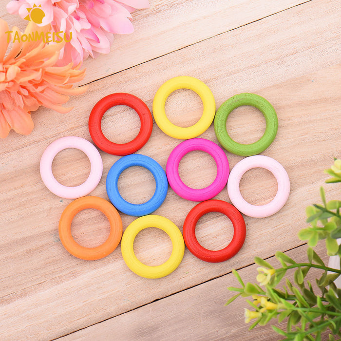 10pcs/pack DIY Pet toy Color rings accessories for Pet  Multipurpose DIY Bird Toy Accessories for Decorations - KiddyLanes