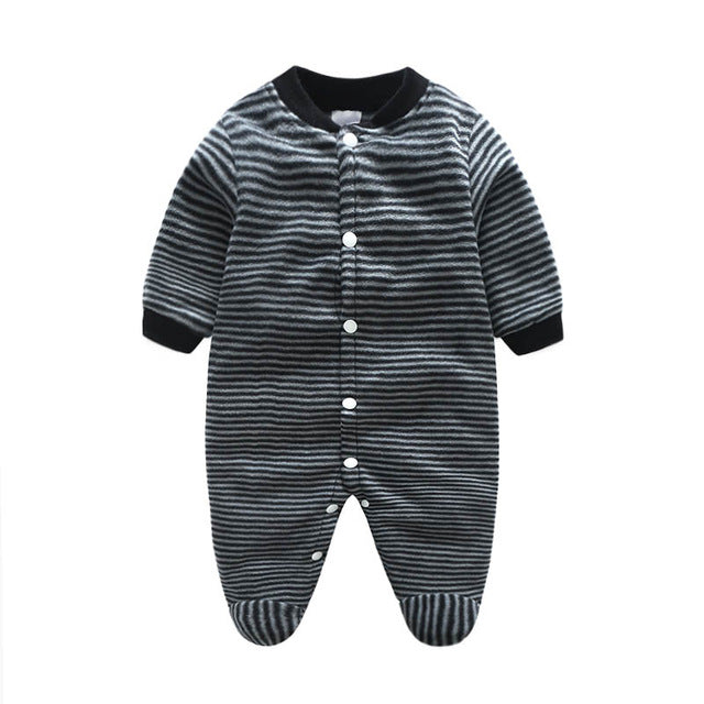 Newborn Unisex Baby Clothes Cartoon Animal Costume Baby Girls Boys Jumpsuit clothing Winter Warm Romper Body Unisex Baby Clothes - KiddyLanes