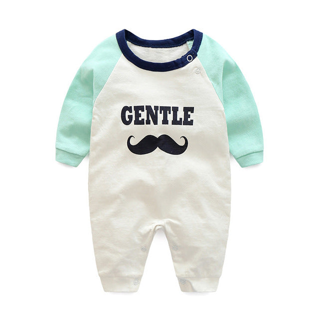 Baby clothes new hot 100% cotton winter and autumn baby rompers - KiddyLanes