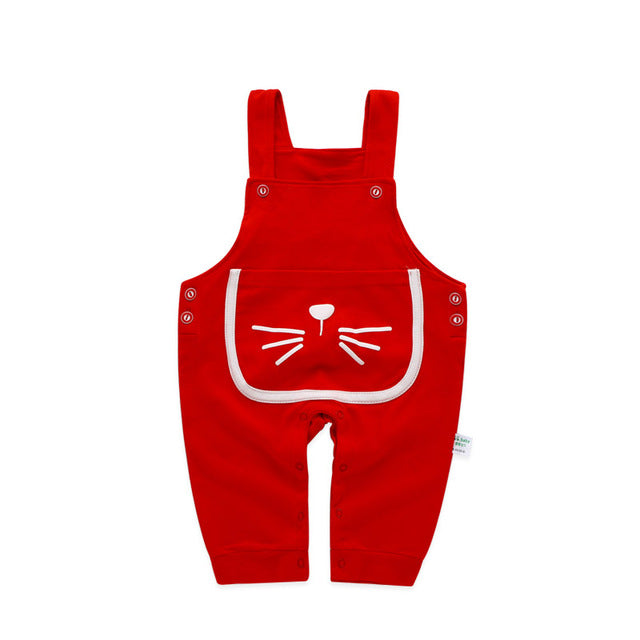 Newborn  Pants Girls/boys with Suspender Baby Overalls - KiddyLanes
