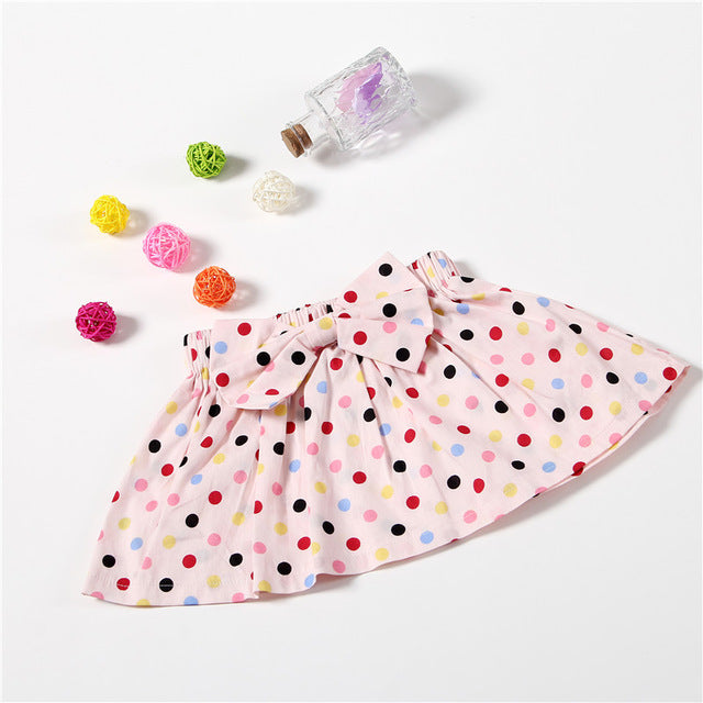 Baby Girls Tutu Skirt Children Printing Dot Kids Petti skirt mini dress party ballet dance Halloween tutu baby girl skirts - KiddyLanes