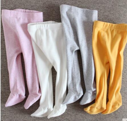 Baby pants cotton infant leggings newborn tights girl pants baby clothes spring and autumn fashion high elasticity Baby trousers - KiddyLanes