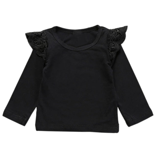 Baby Girls T-Shirt, Full Sleeves - KiddyLanes