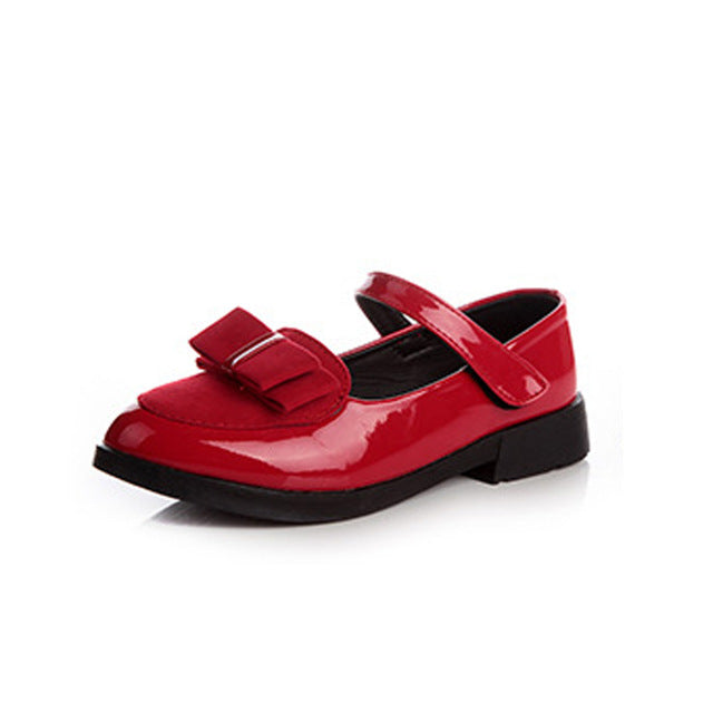 Girls Leather Shoes | Kids Dance Shoes | School Girl Casual Shoes | Spring Autumn Princess Girl Flats