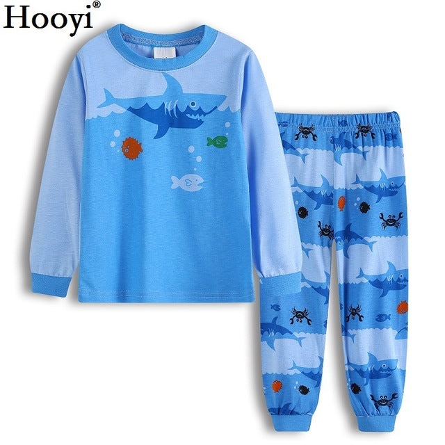 fe7571410 Robot Children Pajamas Suit Boys Pijama Sleepwear Baby Boy Clothing Bo