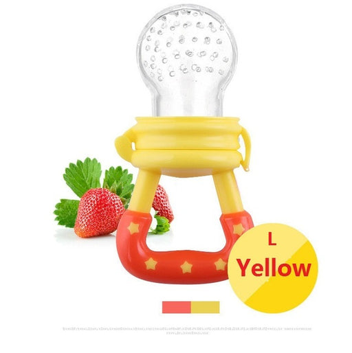 Silicone Baby Pacifier Infant Nipple Soother Toddler Kids Pacifier Feeder For Fruits Food Nibbler Feeder Baby Feeding Pacifier - KiddyLanes