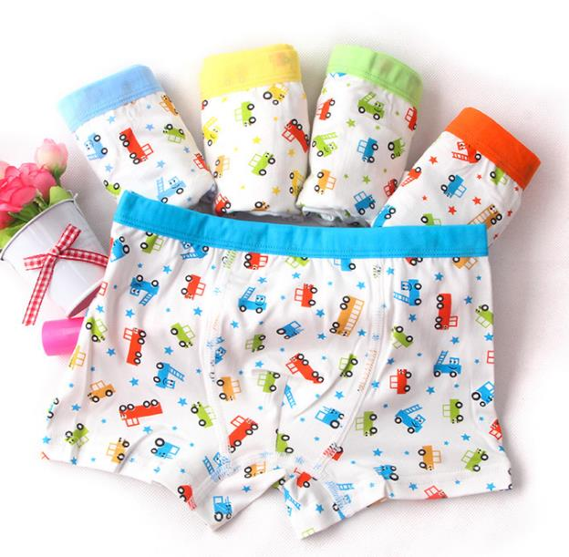 Cyjmydch 3pcs/lot Minions Children Underwear Boys Underwear Kids Boxer Briefs Kitty Girls Panties Boys Panties Girls Underwear - KiddyLanes