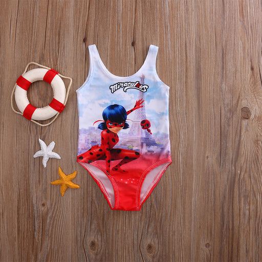 Swimwear Baby Girls Swimming Costume Swimsuit Bikini Mine - KiddyLanes