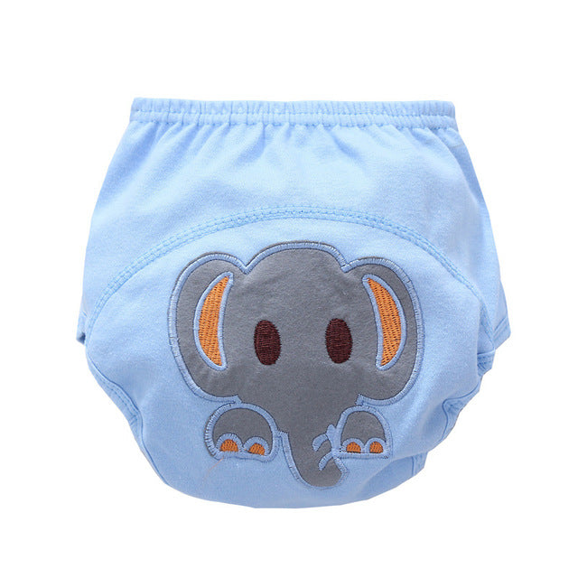 2PCS/Lot Baby shorts Cotton Cartoon Training Pants Infant Reusable diaper Kids Underwear Underpants for Children,Newborn gift CN - KiddyLanes
