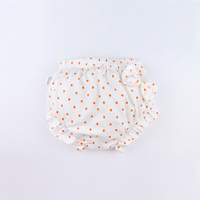 Kids 100% Cotton shorts Girls,Baby,Infant,fashion Bow,Dots Underwear Panties For Children Cute High-quality Underpants gifts CN - KiddyLanes