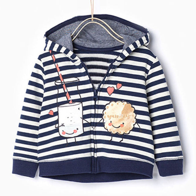 Brand New unisex children kids clothing baby girls boys sweatshirts hoodies fleece hooded high quality winter jacket Coat - KiddyLanes