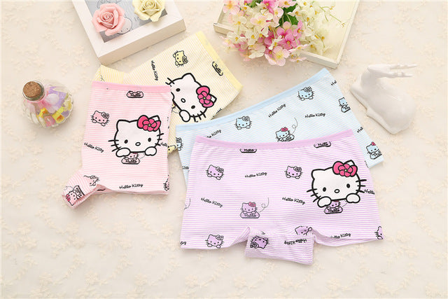 4pcs/set Cotton Boxer Briefs Girls Underwear princess Children Kids Baby  Panties - KiddyLanes