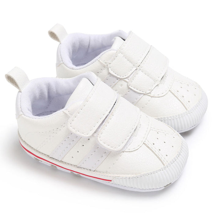 2017 New Baby Toddler Infant boy Girl Soft Sole fashion prewalker Crib Shoes Casual Shoes 0-18 Month - KiddyLanes