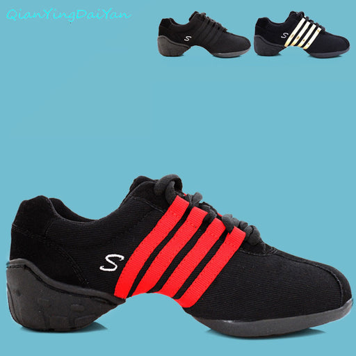 Kids' sneakers hot selling children's brand Jazz / Modern dance shoes canvas fabric soft TPR bottom performance shoes size 28-40 - KiddyLanes