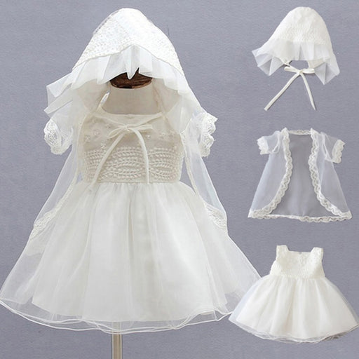Wedding Baptism girl dresses |  Baby girl Christening Gowns |  First Birthday dress for Baby girls