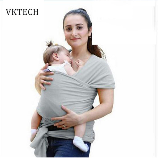 Soft Baby Kangaroo Wrap Sling Baby Carrier Front Facing Cover Backpack For Kids Children Hipseat Nursing Cover - KiddyLanes