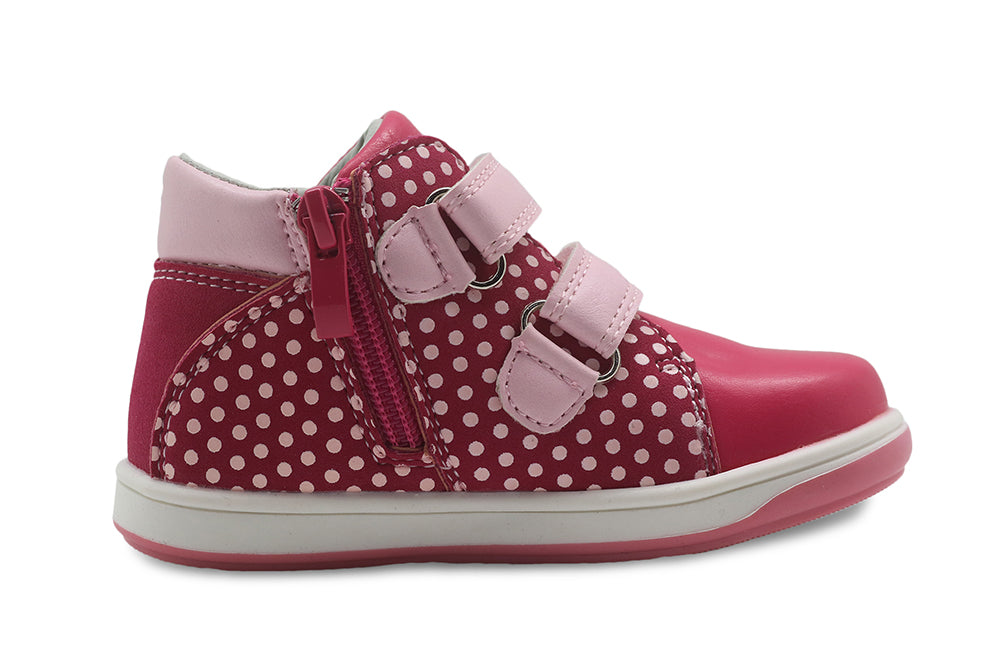 Apakowa Girl Shoes Spring Autumn New Children's Shoes Pu Leather Toddler Kids Anti-Slip Sneakers for Girls Eur 20-25 - KiddyLanes