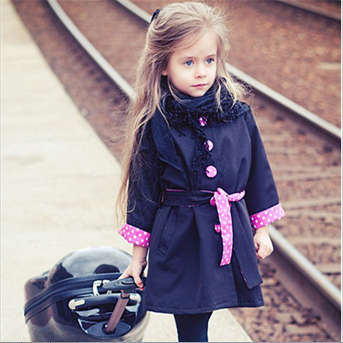 Fashionable Wind Coat Outerwear For Girl | Autumn Jacket