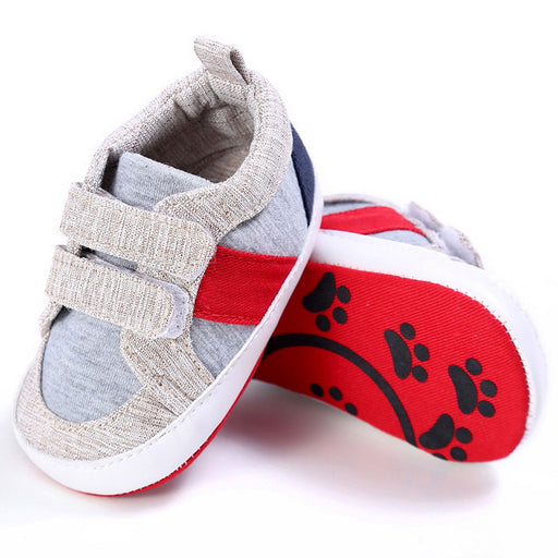 Fashion Baby Shoes Boy Girl Newborn Crib Soft Sole Shoe Sneakers 3 color Cotton Cloth baby boy shoes bebek ayakkabi - KiddyLanes