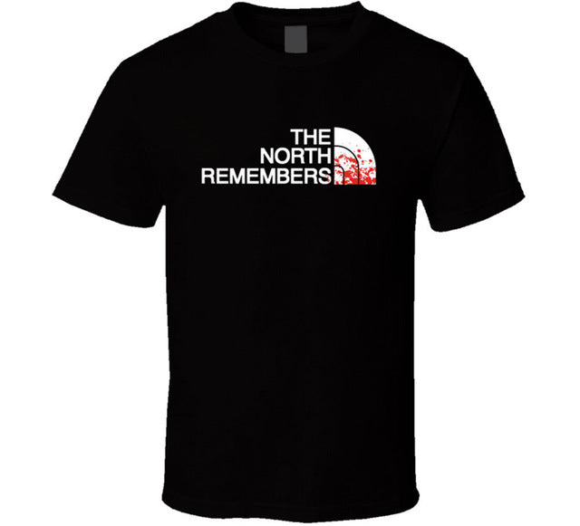 The North Remembers Game of Thrones T Shirt Tee Got Stark Wolf New From US Hot New 2018 Summer Fashion T-Shirts Top Tee