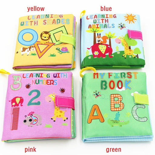 Babies Early education book Children's stereotypes education books Puzzle book - KiddyLanes