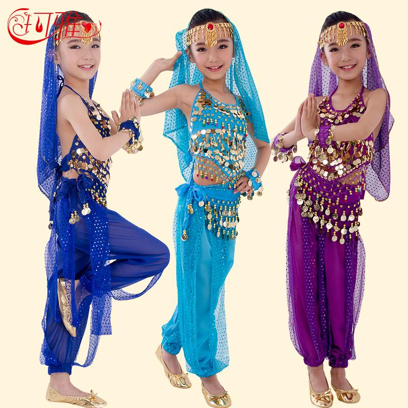 1ed1b9a3a New Handmade Children Belly Dance Costumes for Kids Belly Dancing Girl