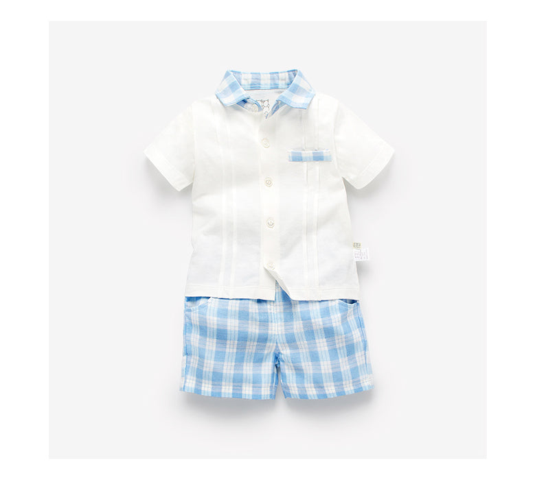 England Style Baby Formal Shirt & Short Set | Baby Formals