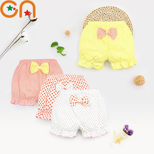 100% Cotton Baby Underpants with Bow Design