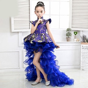 Girls Performance Dress | Catwalk Gown | Carnival Princess