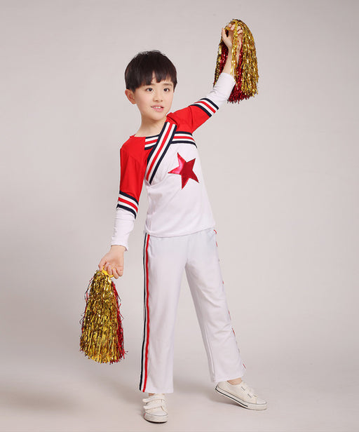 Children Adult Performance Clothing Girl Cheerleading Dance Dress Cheerleader Dance Custome No Pom Pom - KiddyLanes
